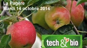 """Rendez-vous """"Tech&Bio"""" Cultures pérennes - La Pugère (13) - Mardi 14 octobre 2014"""