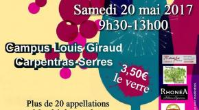 Salon des Vins 2017 au Campus Louis Giraud
