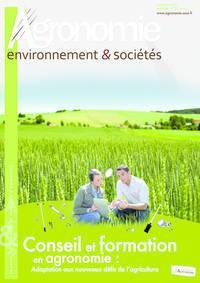 Revue AE&S vol.3, n�2, d�cembre 2013 : Conseil et Formation en agronomie : Adaptation aux nouveaux d�fis de l'agriculture